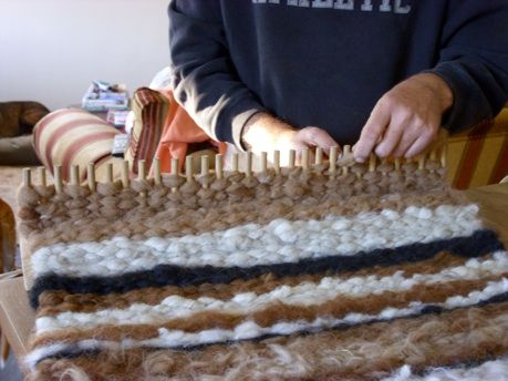 Explore Peg Loom Weaving And More