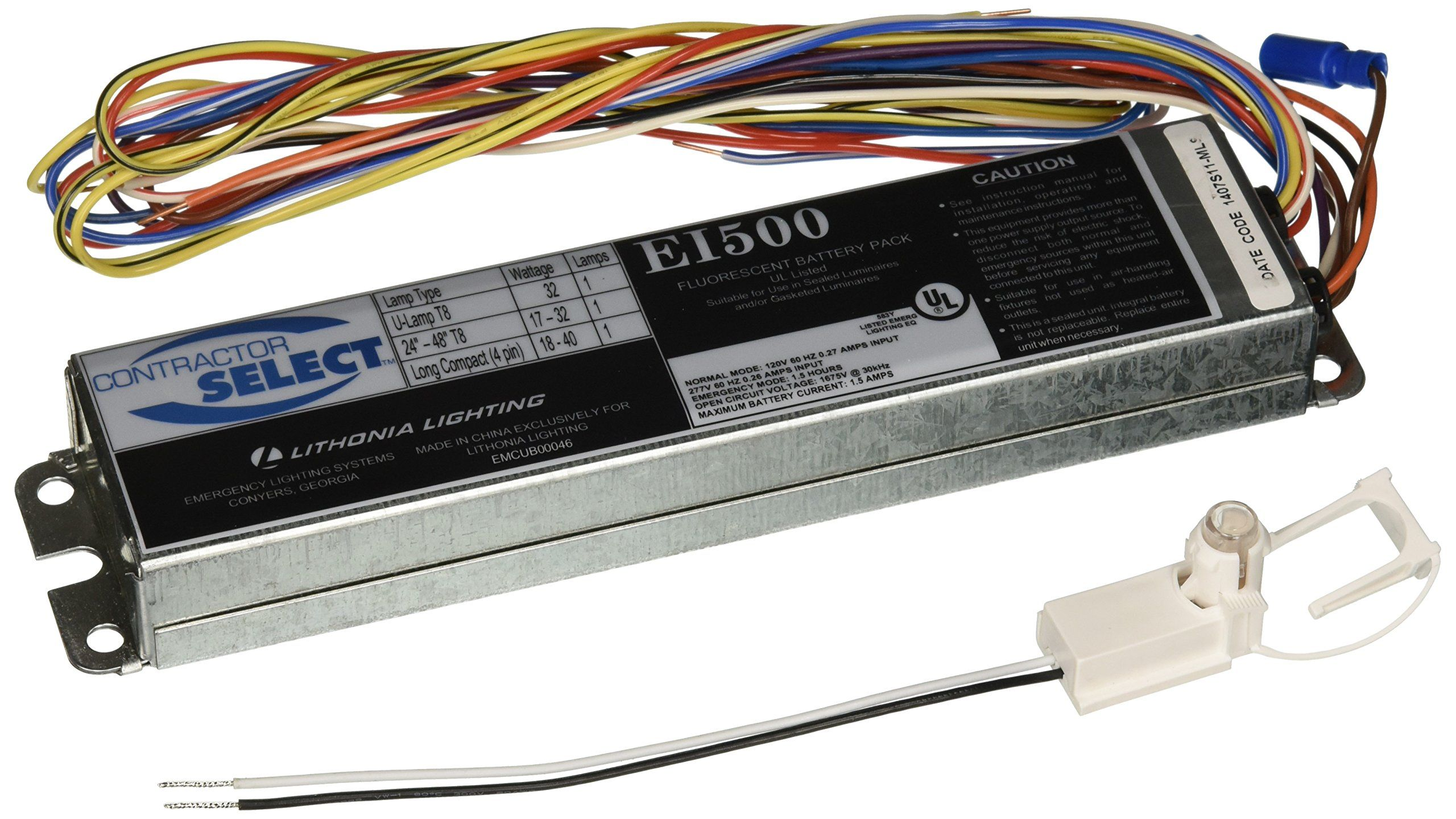 Lithonia Lighting Ei500 M12 Contractor Select 500 Lumen Emergency Ballast For Fluorescent Fixtures Read More At The Image Lithonia Lithonia Lighting Ballast