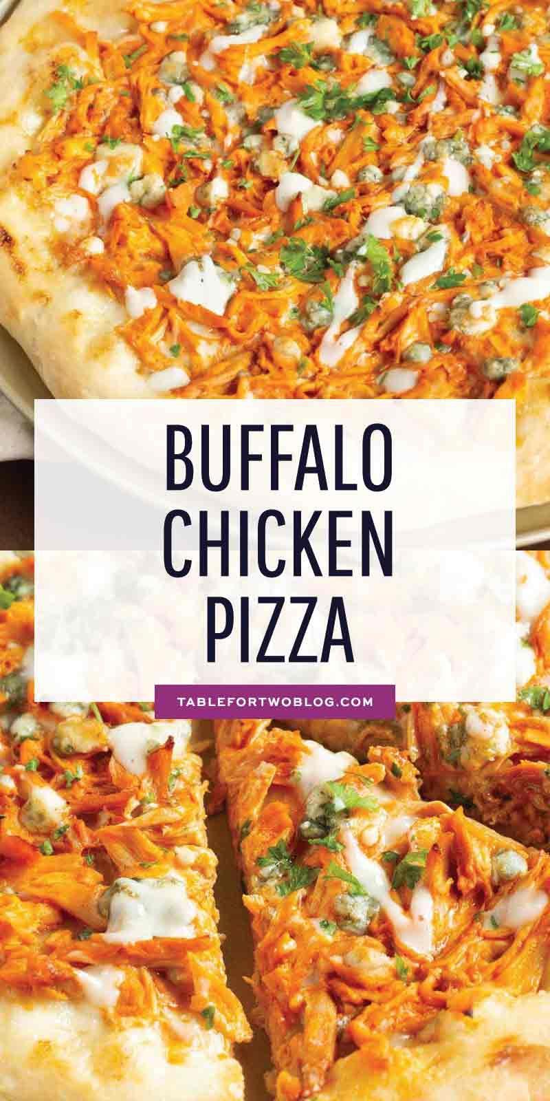 Photo of Buffalo Chicken Pizza – Buffalo Chicken Recipe Idea