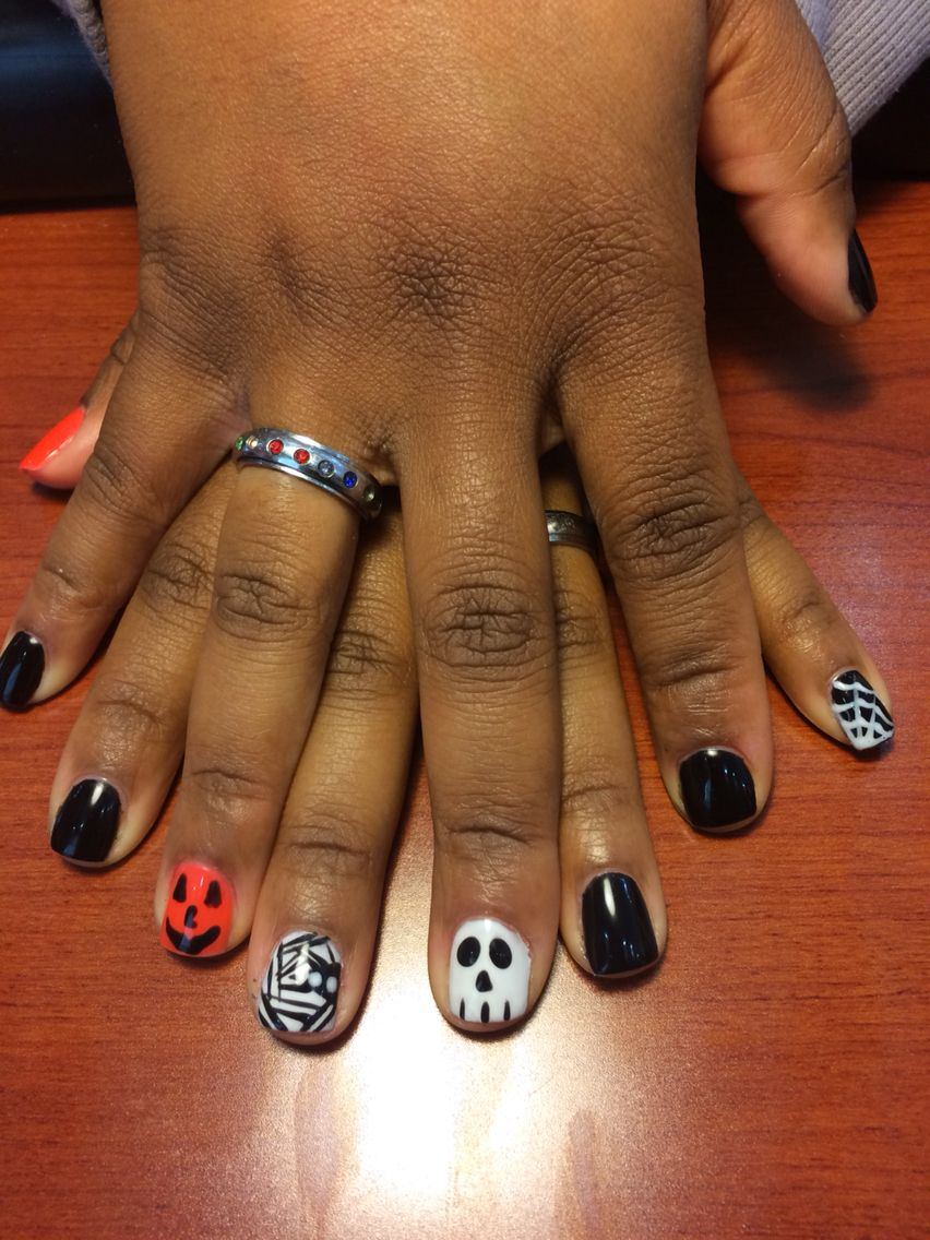 No chip manicure with designs. Love what I do.. | Nails 2014 ...