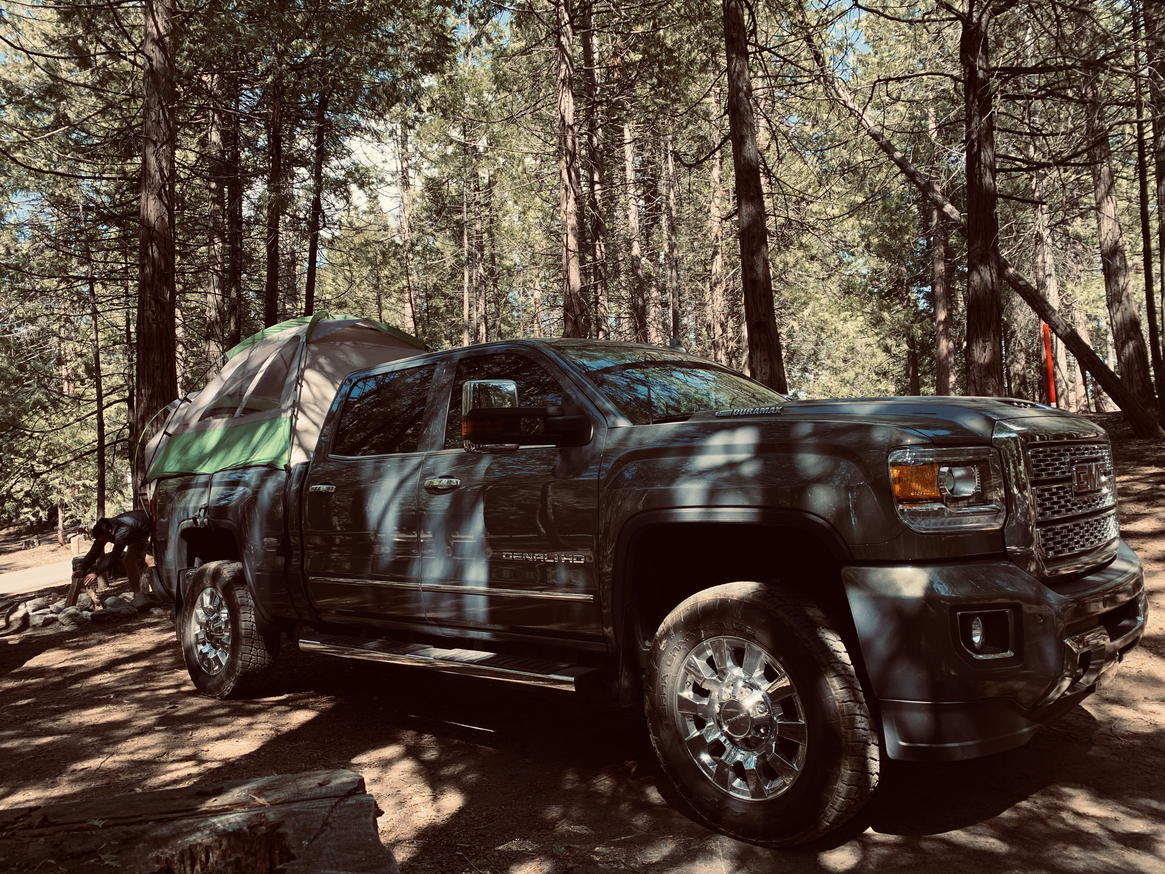 Gmc Denali Truck Tent Camping With Images Truck Tent Truck Tent Camping Denali Truck
