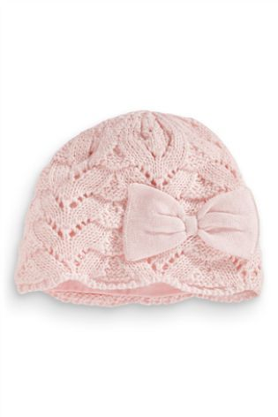 Buy Crochet Bow Hat (0-18mths) from the Next UK online shop