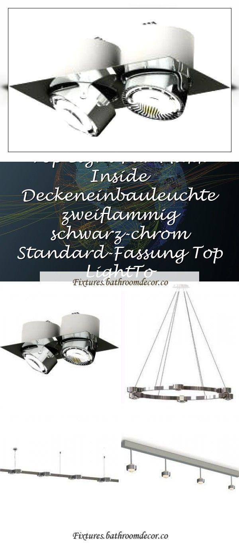 Photo of Top Light Puk Crown pendant lamp chrome L 12x glass matt Standard version Top Li…