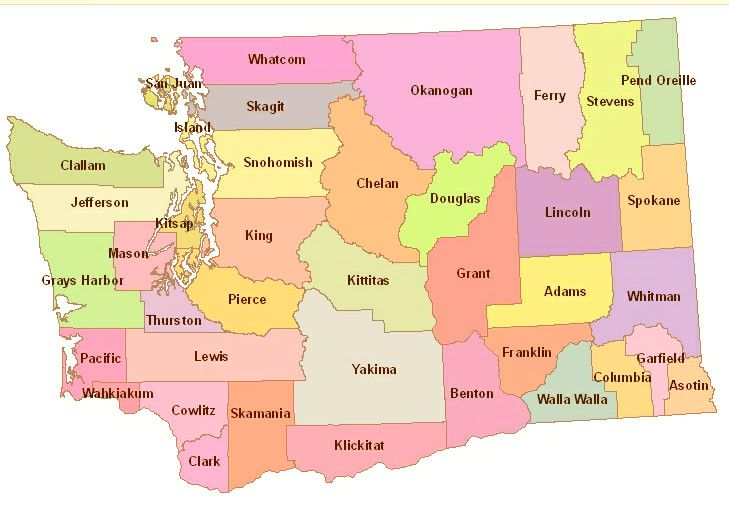 Map Of Washington State Cities Maps Map Travel Travel Tips