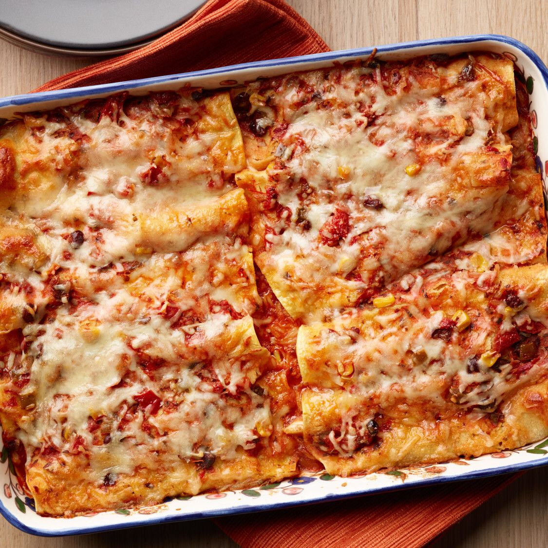 Shortcut Chicken Enchiladas Recipe Food Network Recipes Easy Comfort Food Recipes