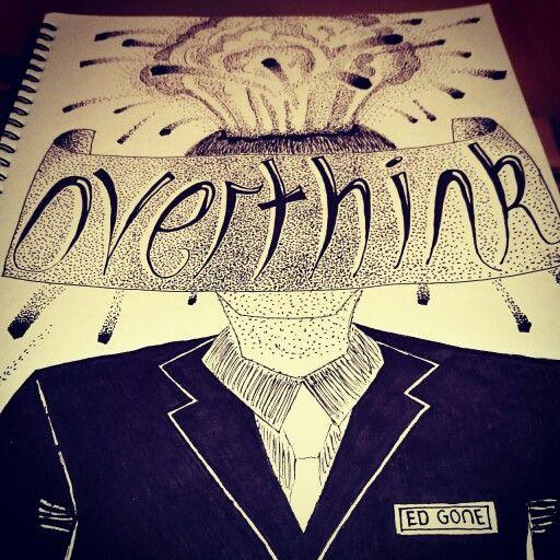 design illustration art artist sketch draw shading overthinking