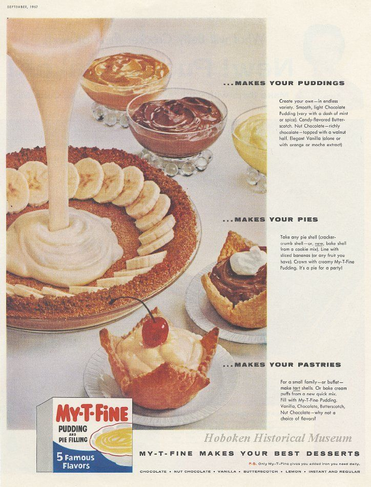 My t fine pudding and pie filling recipes