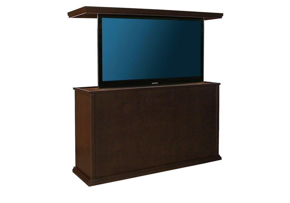 Tv Cabinet Lift Traditional With Swivel Size A Up To 40