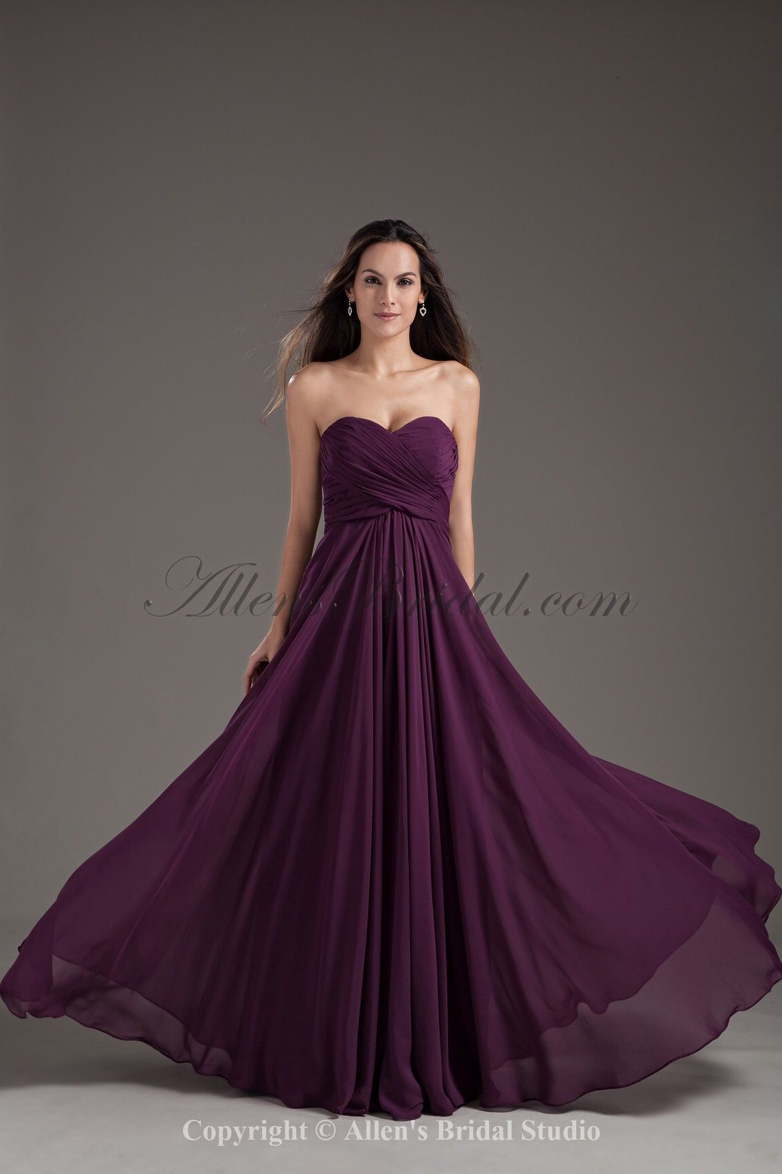 purple floor length dress - Google Search | Dresses | Pinterest ...