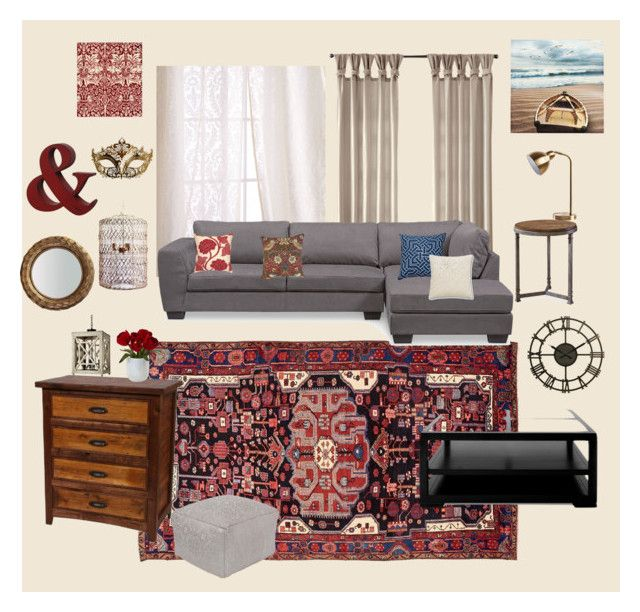 """living room inspo"" by maddypenny on Polyvore featuring interior, interiors, interior design, home, home decor, interior decorating, Sweet Dreams, Carlos by Carlos Santana, Nina Kullberg and William Morris"