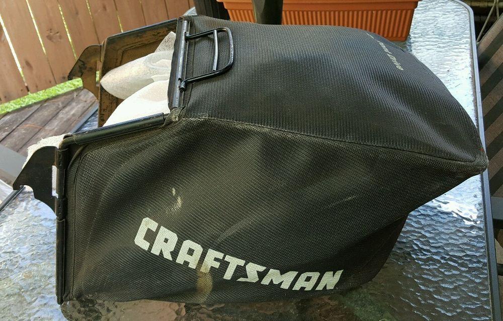 Craftsman 21 Front Drive Mower Rear Bag Grass Catcher Craftsman Lawn Mower Parts Bags Mower