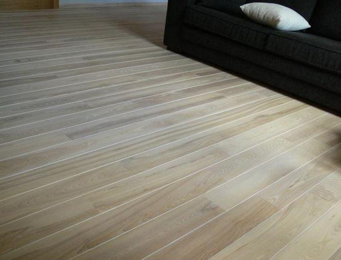 Goedkope houten vloer essen parketvloer