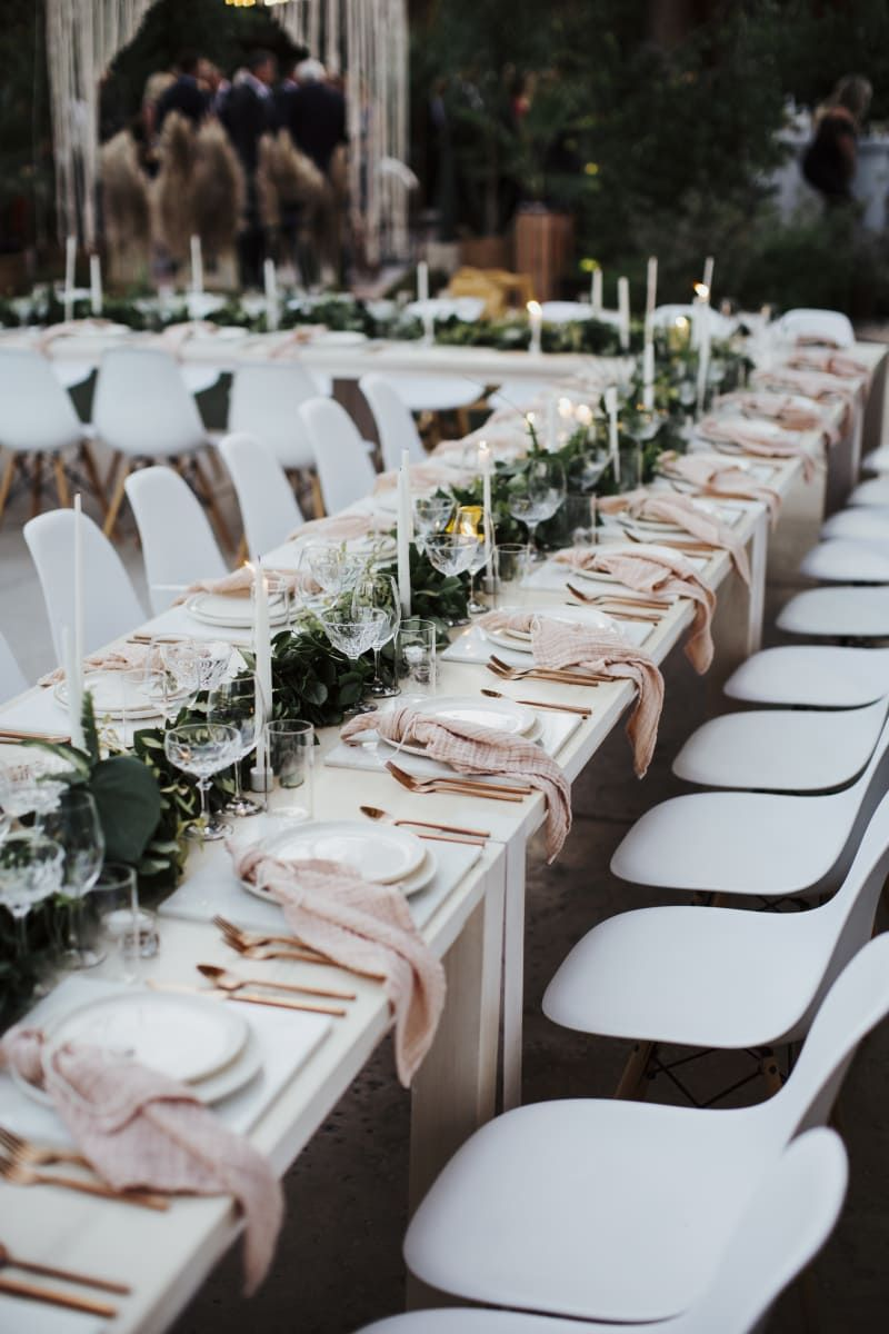 Chic Bohemian Wedding At The Alcazar Palm Springs Hotel