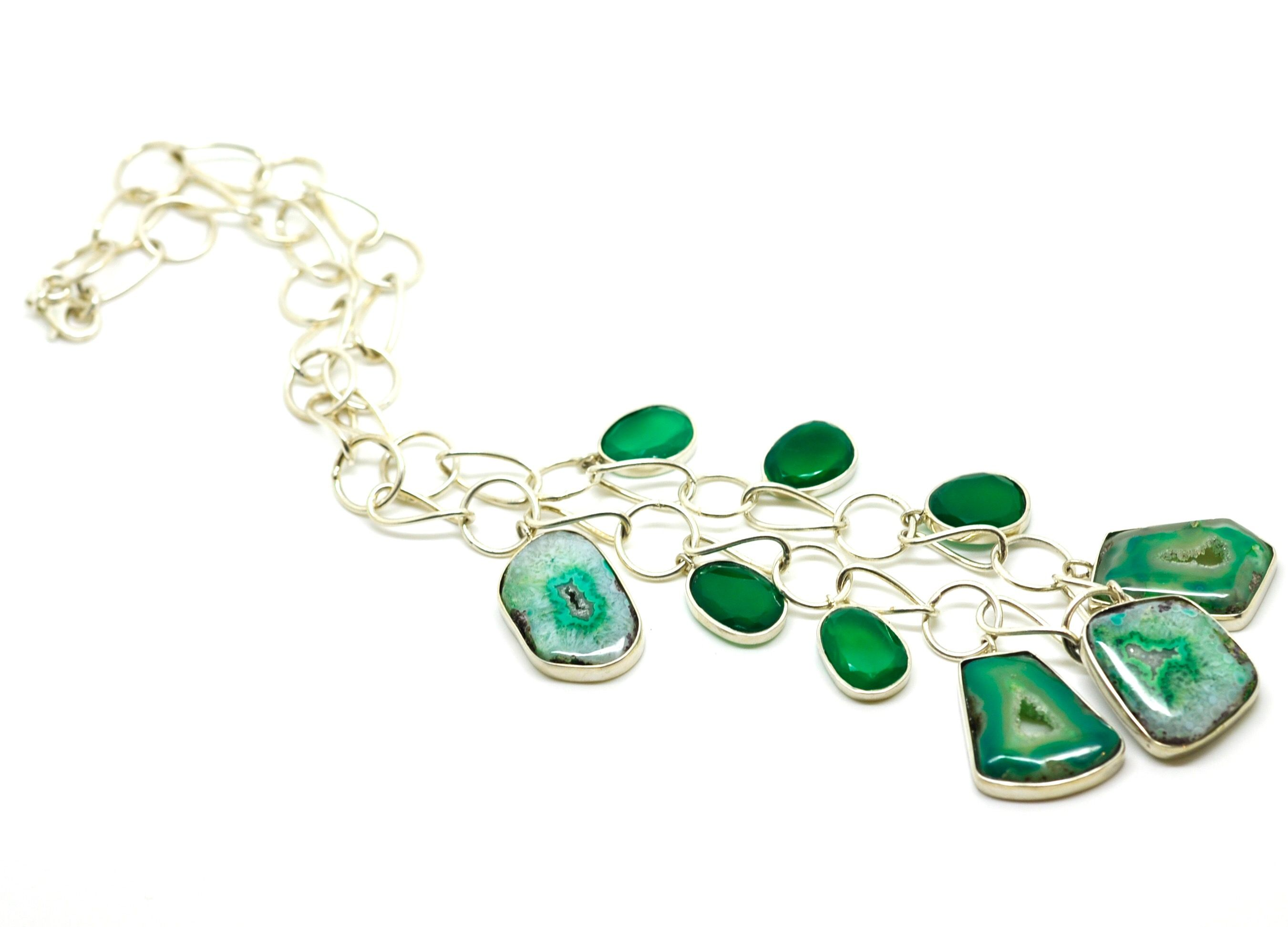 jacquelineashworth emerald green inspiration gold onyx ashworth jewellery collections necklace products love jacqueline briolette patience