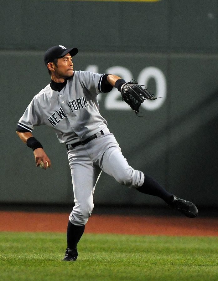 Ichiro Suzuki, New York Yankees | Yankee Baseball | Pinterest ...