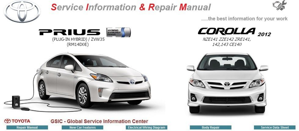 toyota prius workshop repair manual plug in hybrid cars and rh pinterest com Toyota Camry Repair Manual Toyota Repair Manual Online