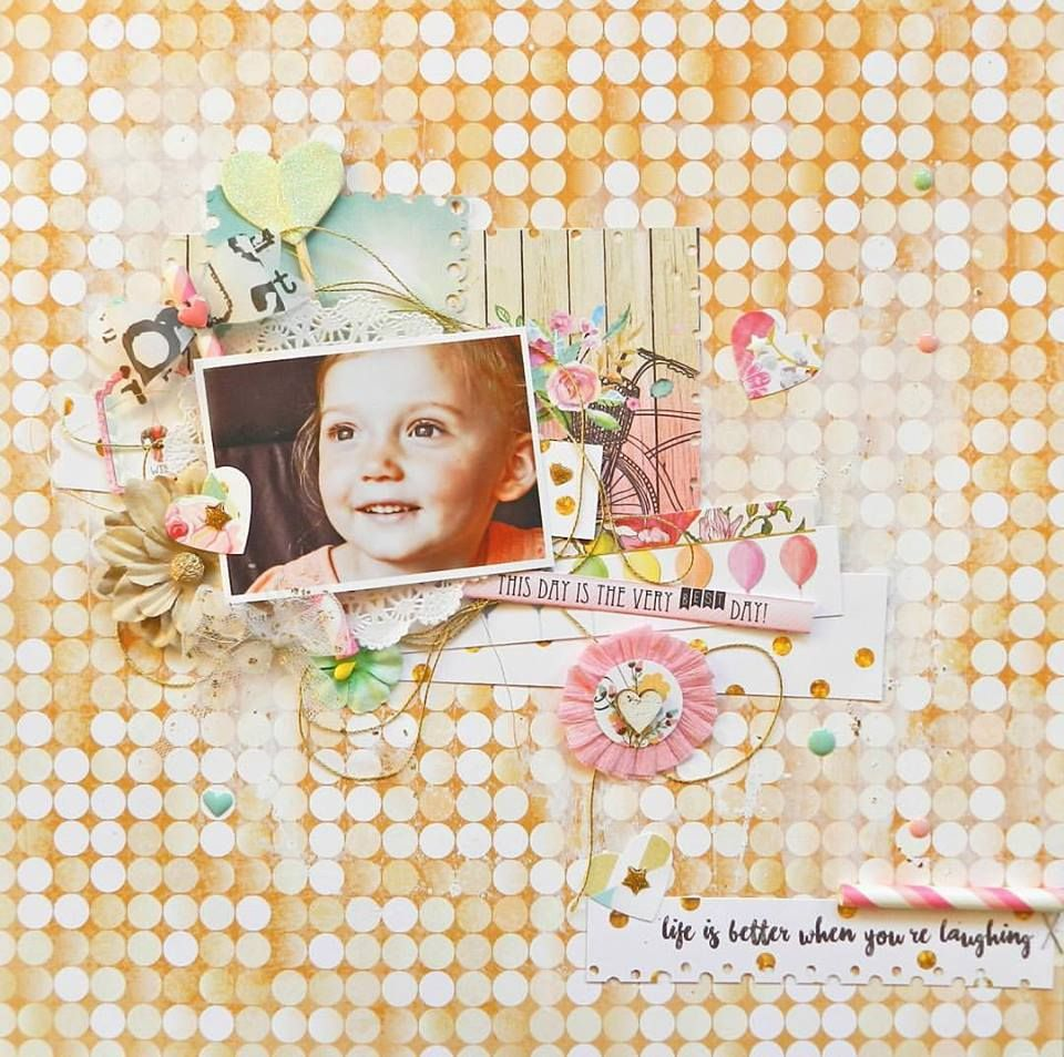 Life+is+Better+When+You+are+Laughing+by+WP+DT+Member+Erin+Blegen+featuring+the+New+Make+A+Wish+Collection - Scrapbook.com