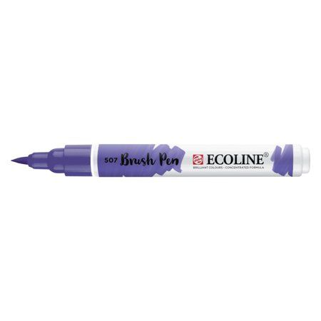 Ecoline Liquid Watercolour Brush Pen Ultramarine Violet Blue