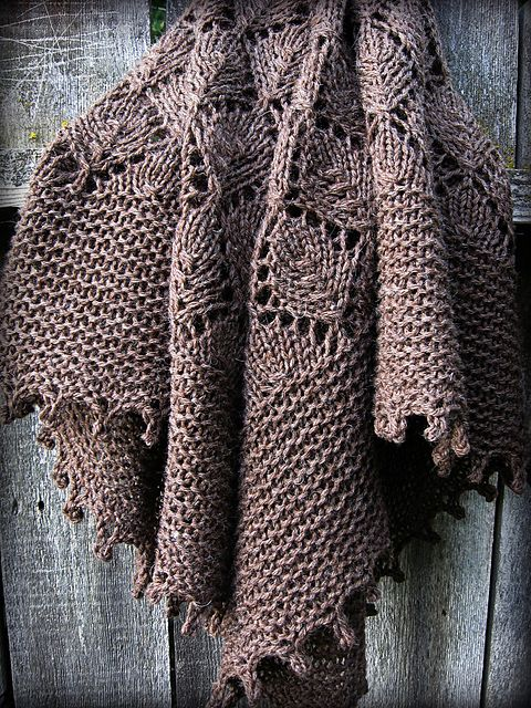 Ravelry: snippetsandstash's Tree Bark by Sylvia Bo Bilvia