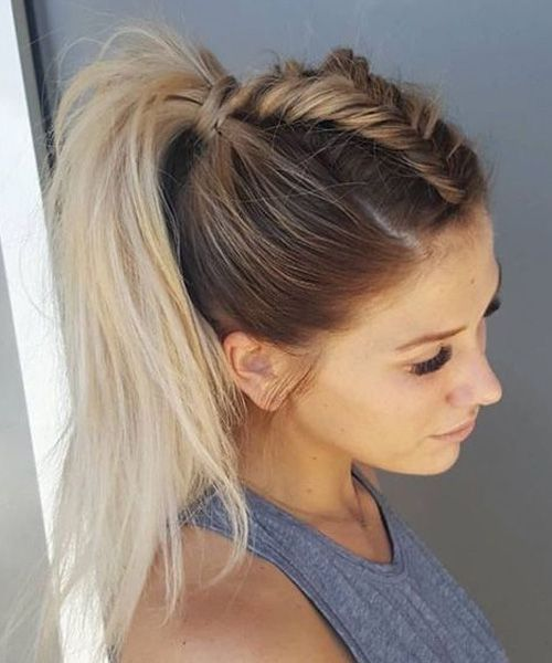 Fancy Ponytail Hairstyles 2017 For Prom