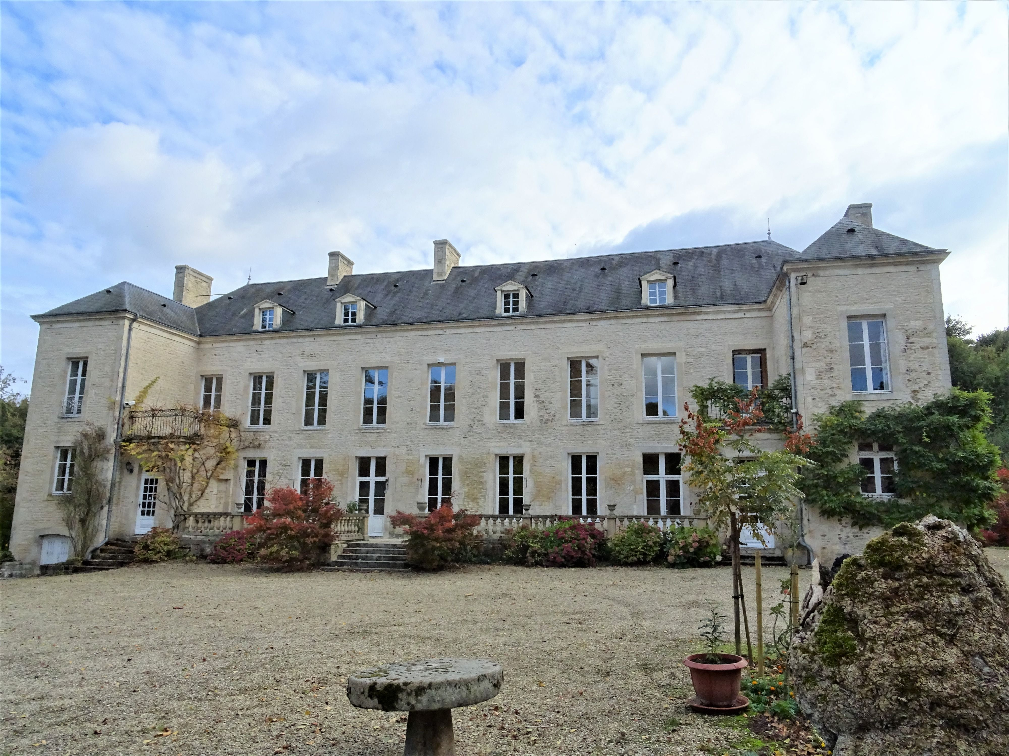 Fabulous Xix Century Manoir Set In Delightful Private Grounds Yet Just A Few Minutes Walk From The Centre Of Falaise Ch French Property Chateau Real Estate