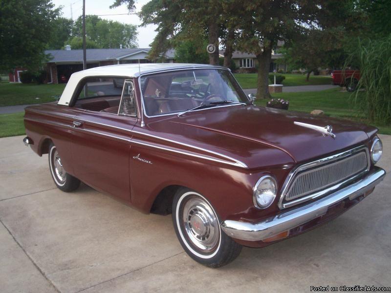 1963 AMC RAMBLER 440H TWIN STICK