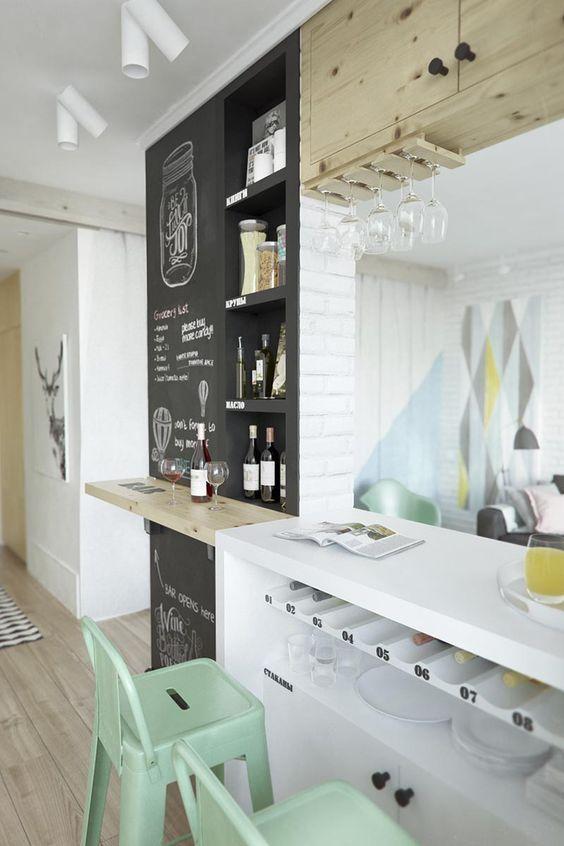 Cocinas con pasaplatos, 6 soluciones para comunicar cocina y salón ...