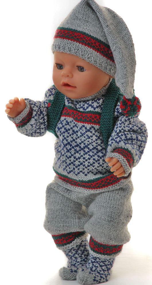 Photo of Amerikansk jente dukke genser mønster
