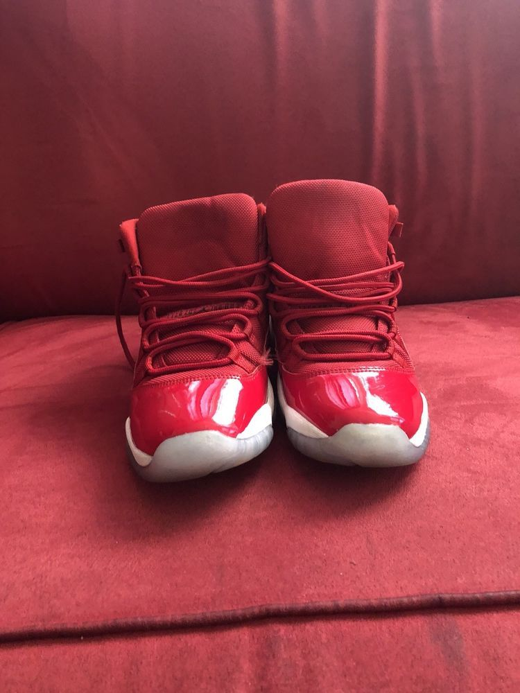 1c9f6d77b4f Jordan 11 Gym Red Size 6  fashion  clothing  shoes  accessories  mensshoes   athleticshoes (ebay link)