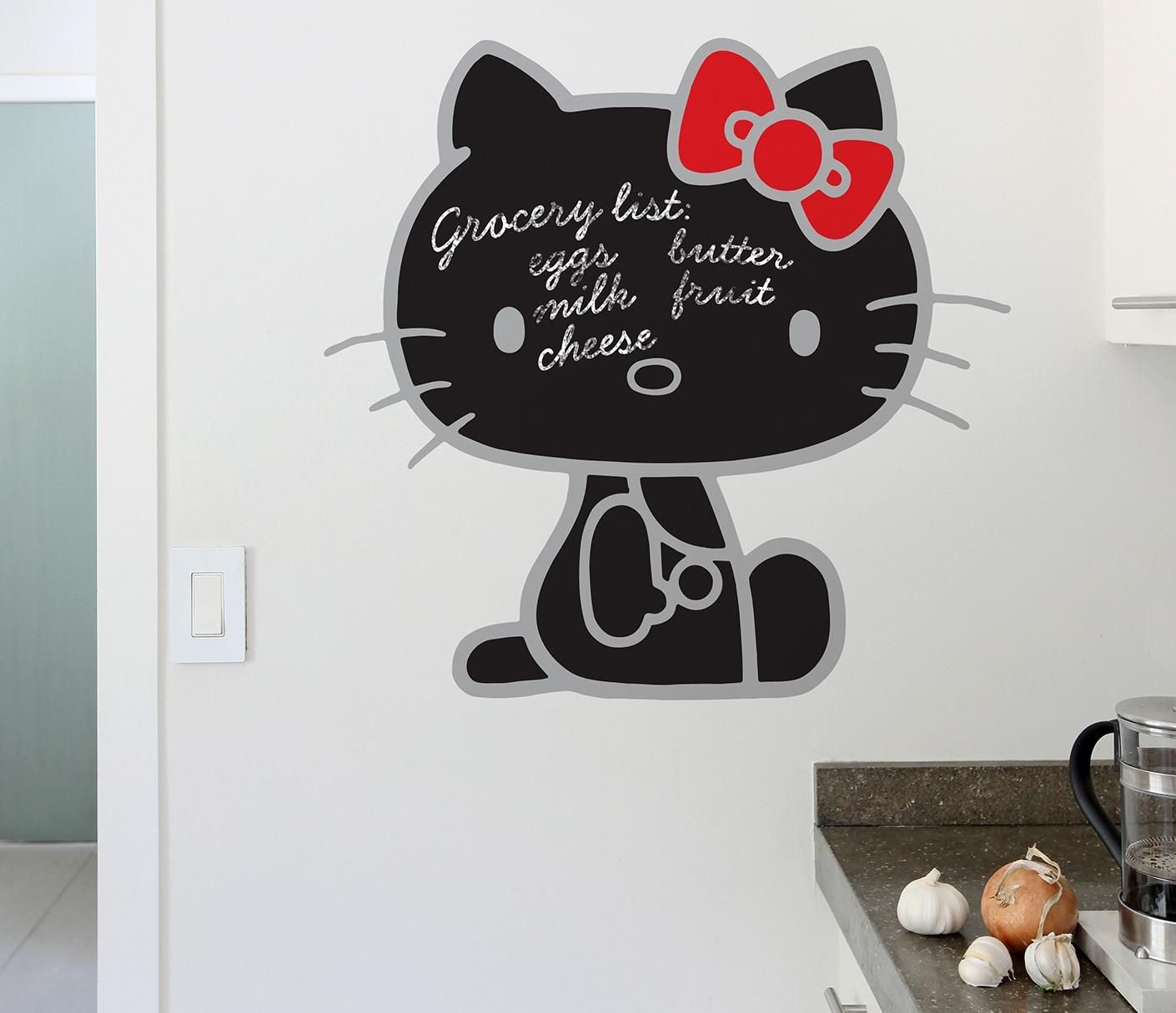 I Would So Put This On My Wall Just Hello Kitty Pinterest - How to put a decal on my wall