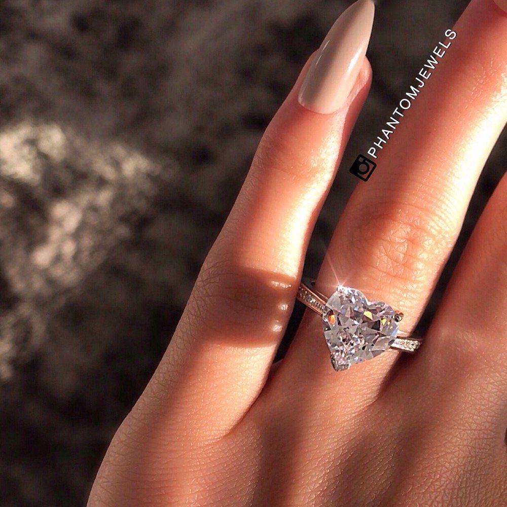 2e97c1425d Embassy Heart Sterling Silver Ring – Phantom Jewels | DESIRES & LIFE ...