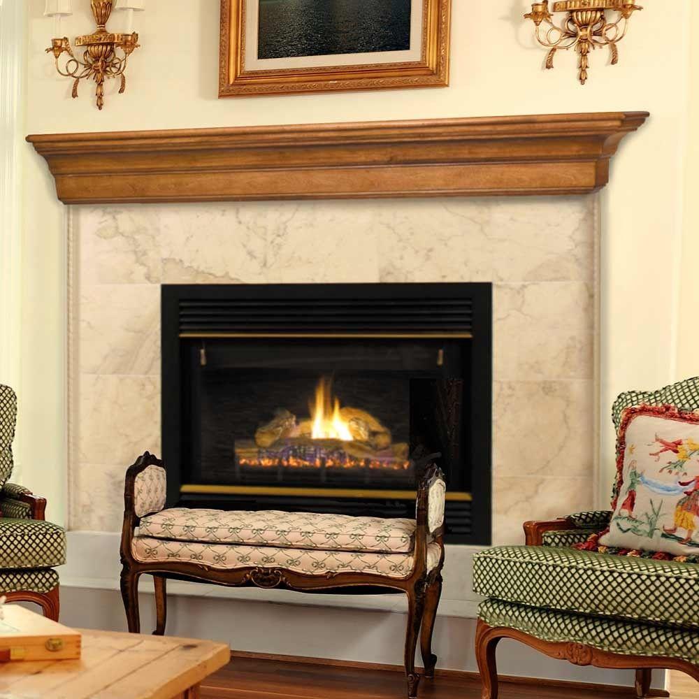 Contemporary Fireplace Mantel Shelves