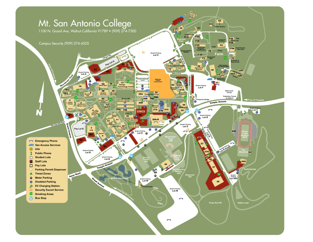 mt san antonio college campus map Image Result For Map Of Mt Sac Campus Dynamic Catholic San mt san antonio college campus map