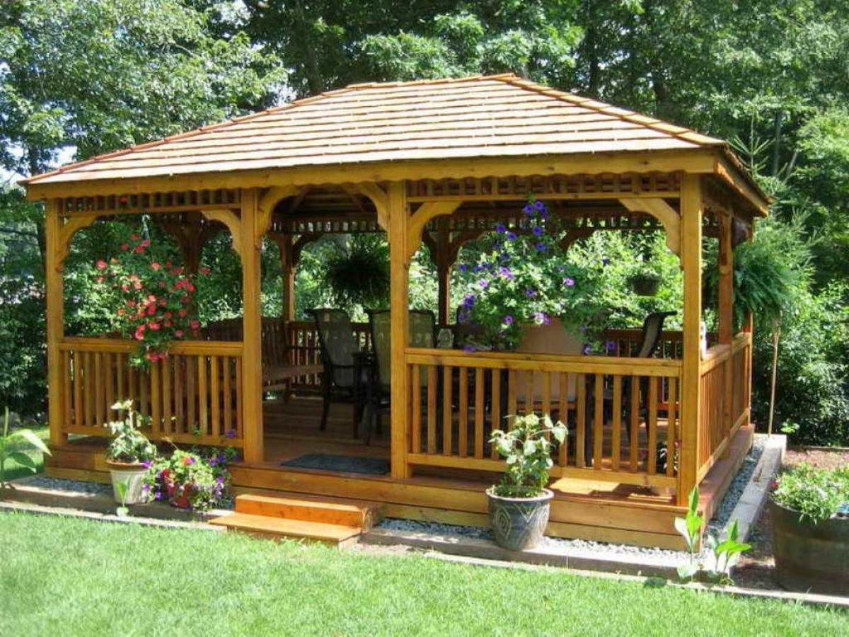 Gazebo designs free plans modern home designs best gazebo for Gazebo house plans