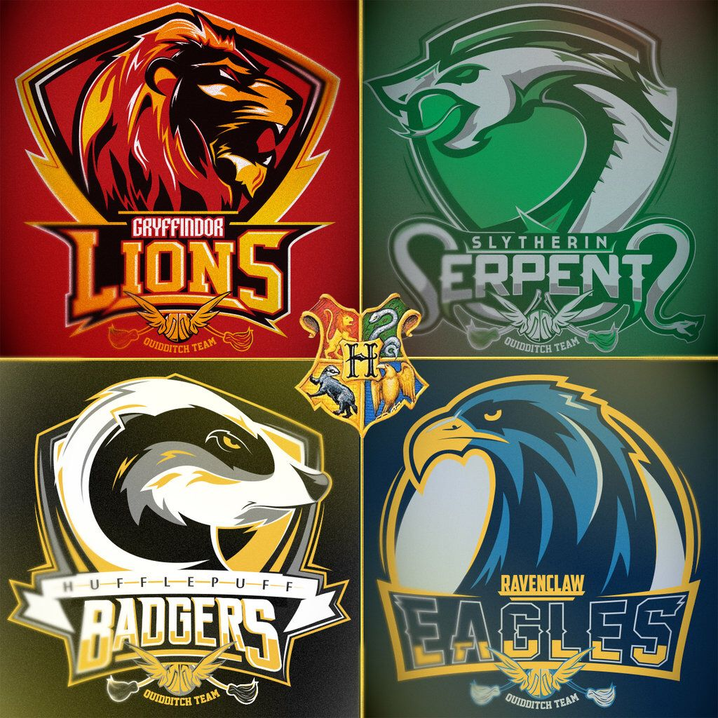Potter Quidditch Club Crests by MitchLudwig on DeviantArt