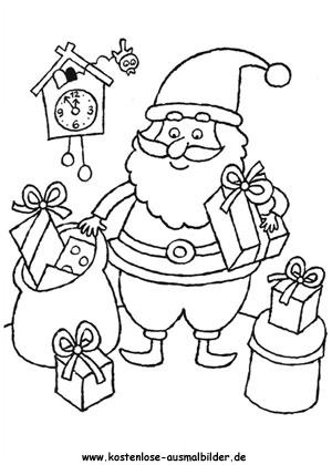 Ausmalbild Nikolaus 8 Ausmalbilder Nikolaus Weihnachtsfarben Lustige Malvorlagen