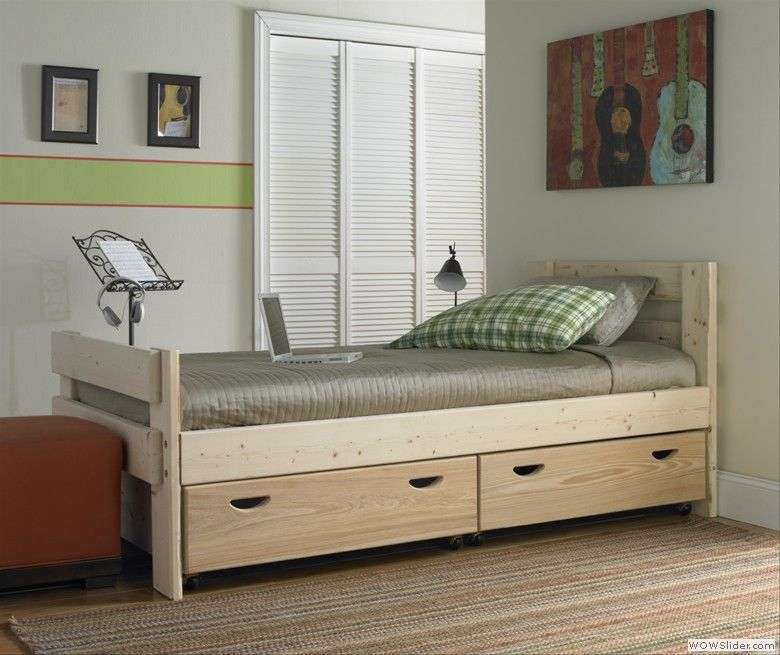Bed With Drawers Underneath Captains Bed With Storage Drawers. To Purchase Call 1-800