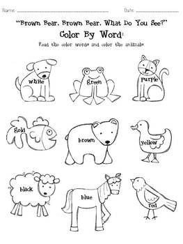 Google Image Result for http://tcdn.teacherspayteachers.com/thumbitem/Brown-Bear-Color-by-Word-Sheet/original-411092-1.jpg
