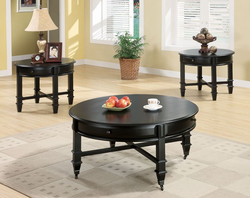 mobile coffee tables: center stage or out of the way | black