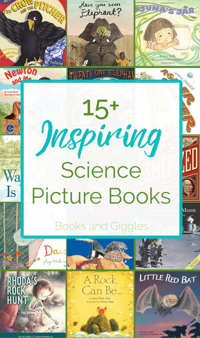 20+ Inspiring Science Picture Books | Fiction books for ...