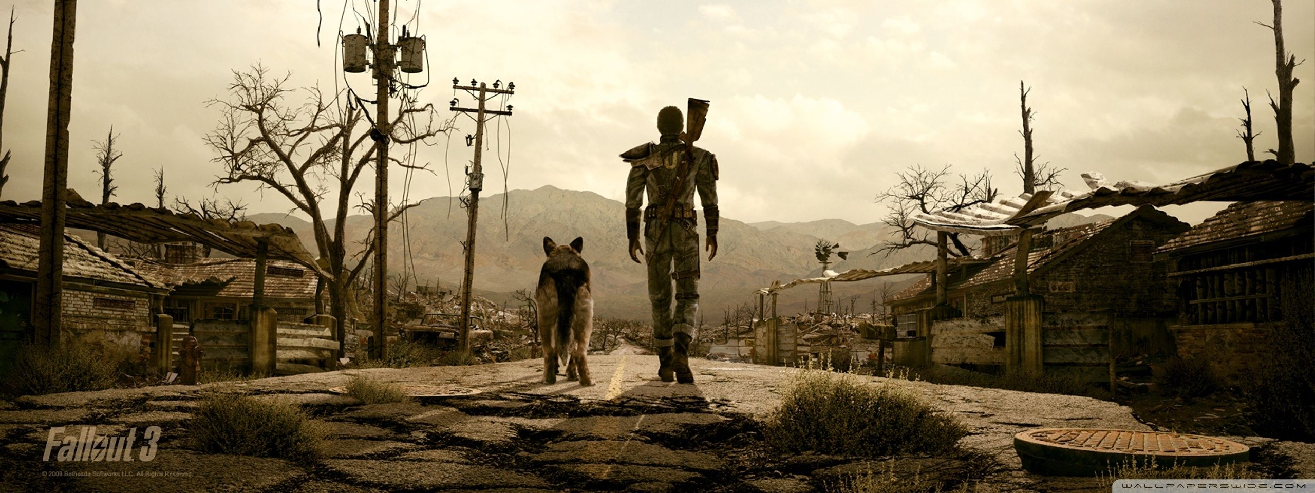 10 Best Dual Monitor Fallout Wallpaper FULL HD 1080p For