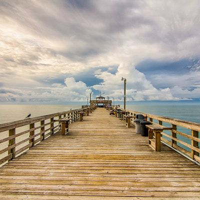 Myrtle Beach, SC: Visit eight historic piers for excellent fishing, food, drinks and sightseeing