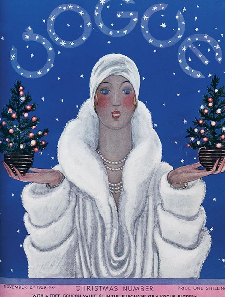35 Stunning Holiday Themed Magazine Covers From The Days Of Yore Vintage Vogue Covers Vogue Covers Vintage Magazines