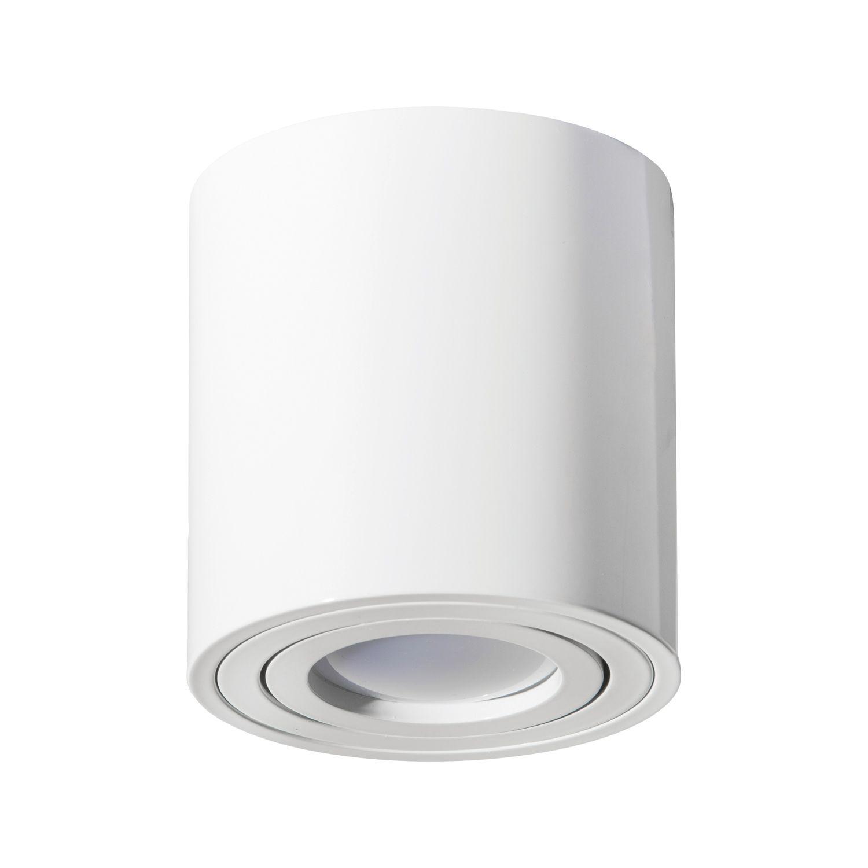 Lampa Tuba Natynkowa Oh36l Biala Tuba Lamp Light