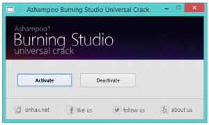 license key for ashampoo burning studio 10 free