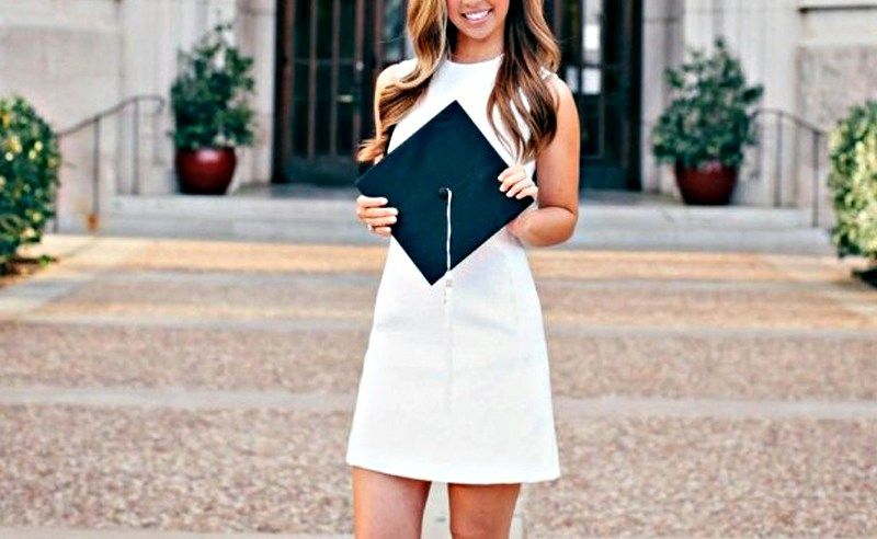 What To Wear For Graduation #graduationdresscollege