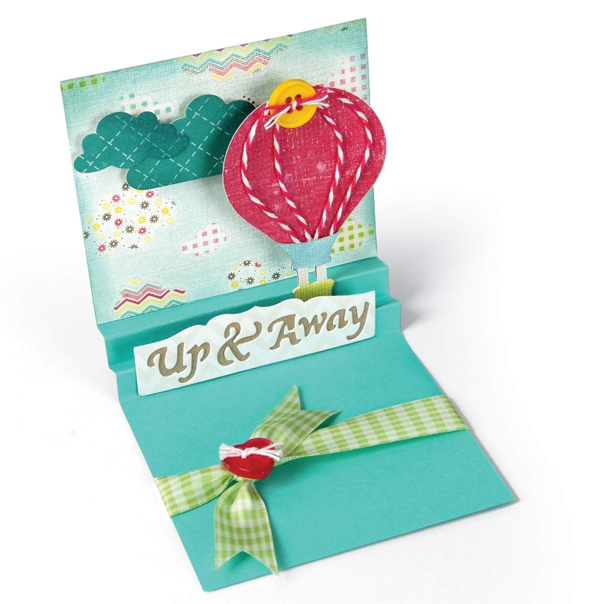 Sizzix Thinlits Dies Card Square With Center Accordion ...