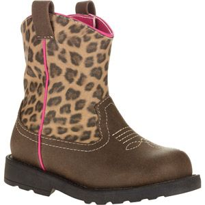 bfc987bf8 Healthtex Toddler Girls' Leopard Print Western Boot | Layla stuff ...