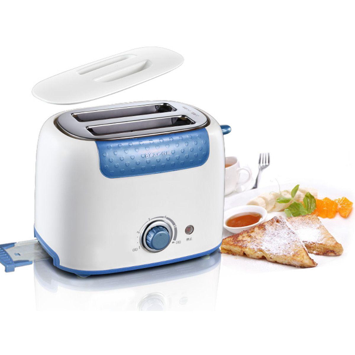 2-Slice Pan Sandwich Tostadora Cocina de acero inoxidable para ...