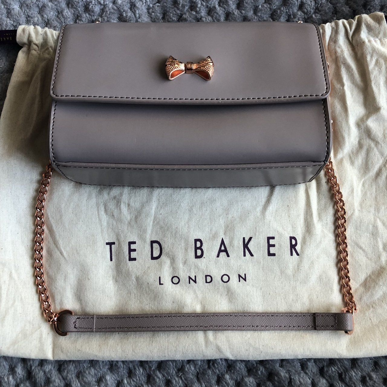 aceb33826e81 Genuine Ted Baker bag with rose gold strap. Brand new, never - Depop ...